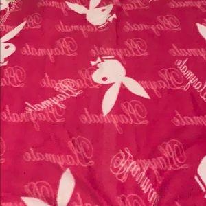 Playboy blanket